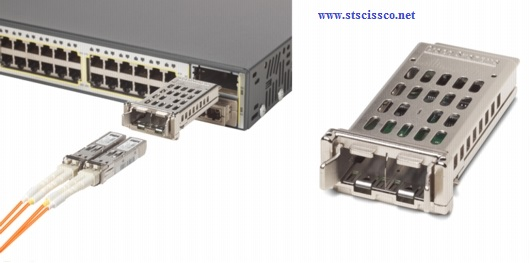 Cisco catalyst 3560-E dung module